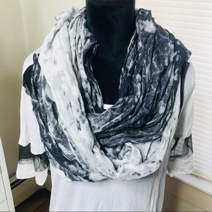 Calvin Klein 'Static' Printed Scarf